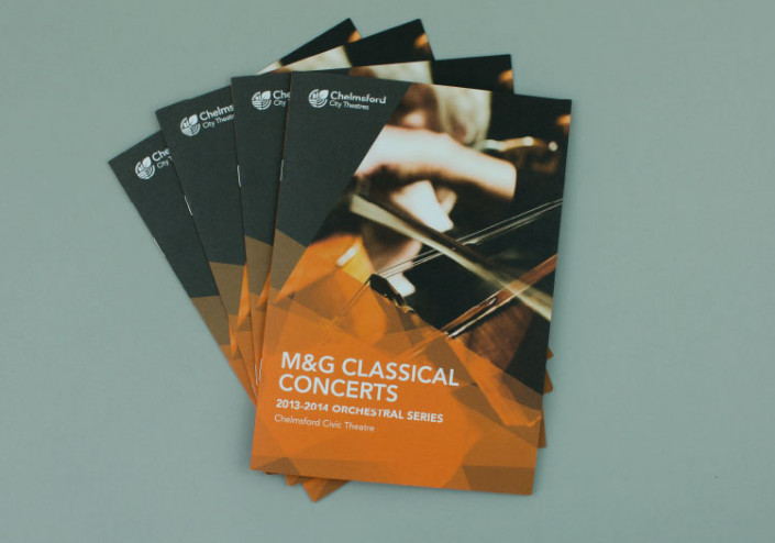 Classical Concert Brochure Design Chelmsford