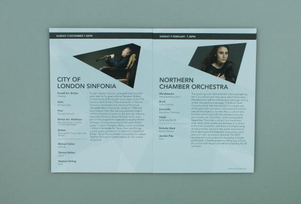Classical Concert Brochure