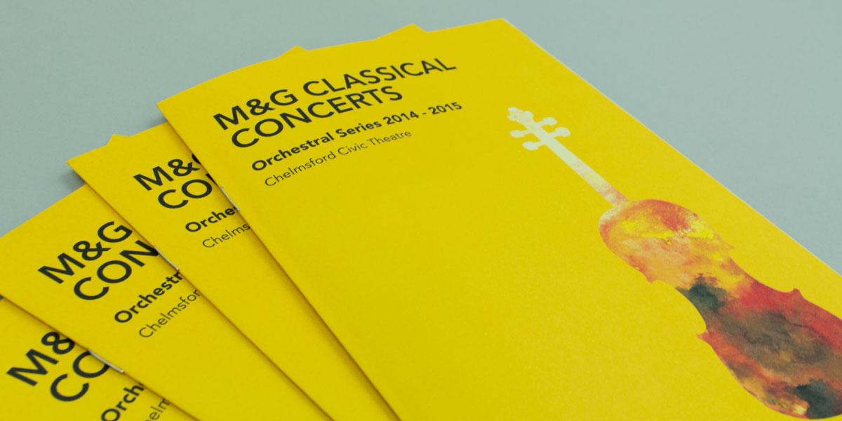 Modern Classical Brochure Design