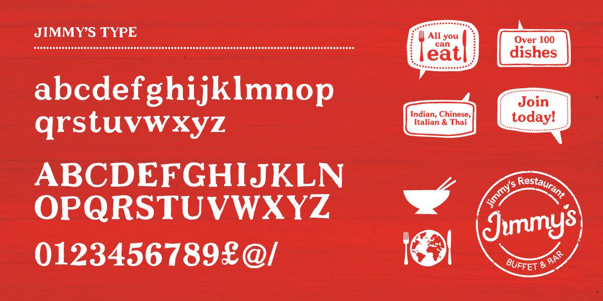 Restaurant Brand Identity Jimmy's