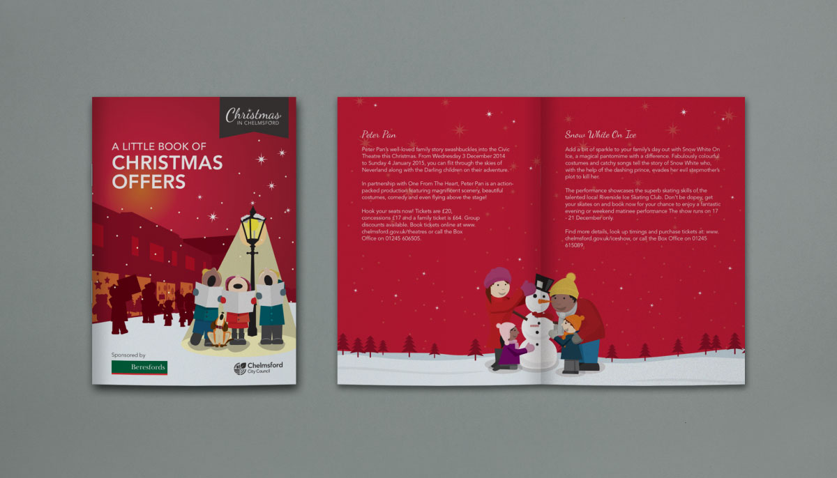 Christmas Branding And Design For Chelmsford Inscribe