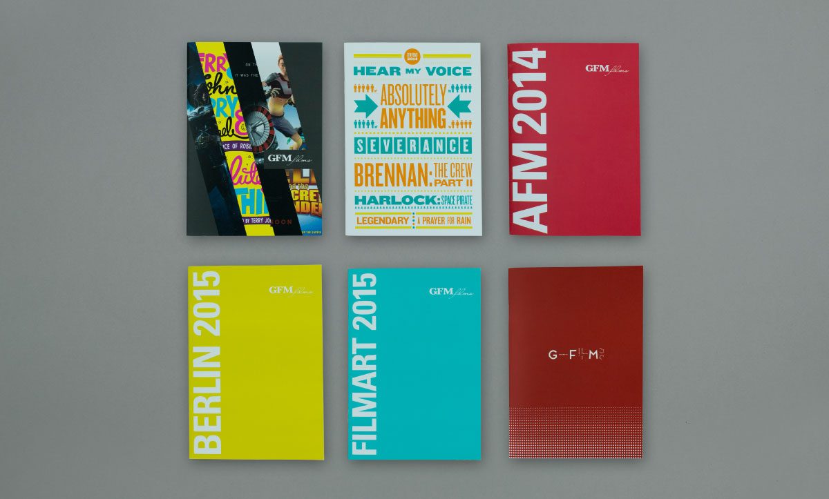 Film Brochure Cover Design