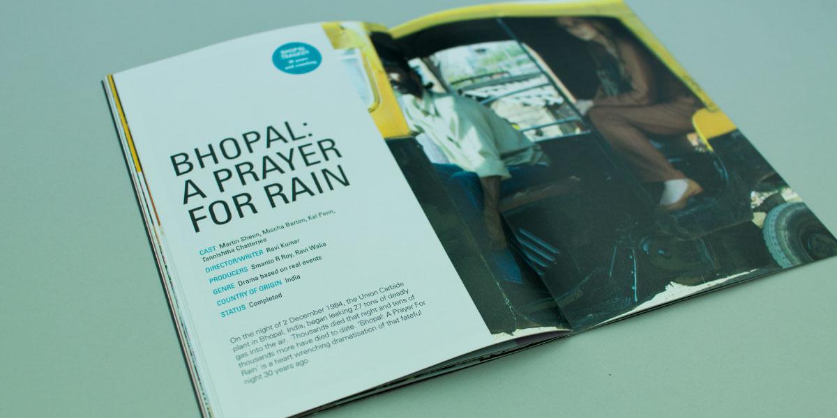 Film Brochure Design for GFM Films