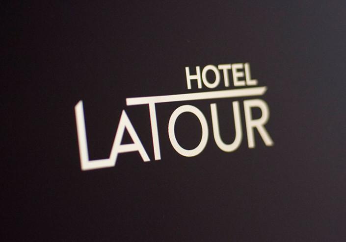 Hotel Branding Logo Hotel Latour