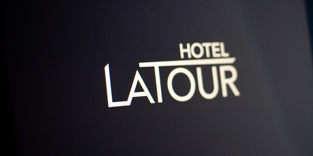 hotel logo hotel latour