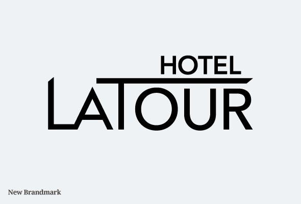 new hotel logo hotel latour